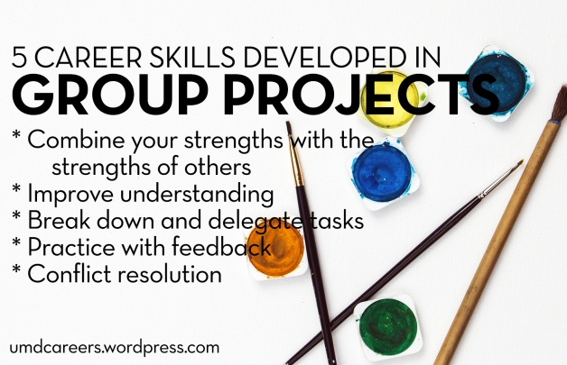 5 Career skills developed in group projects