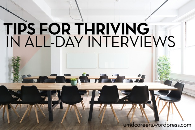 empty conference room - Tips for thriving in all-day interviews