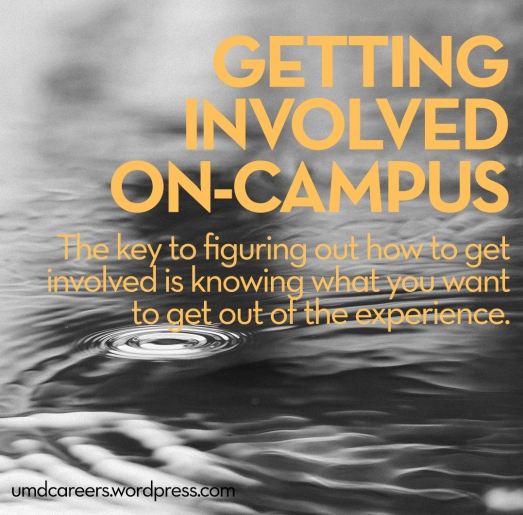 Getting involved on-campus
