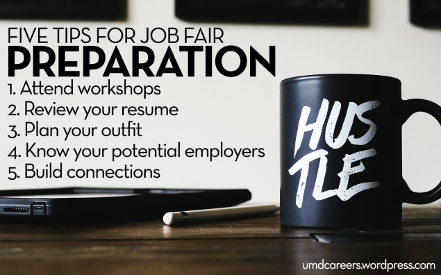 5 tips for job fair preparation