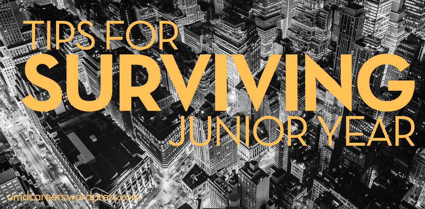 Tips for surviving Junior year