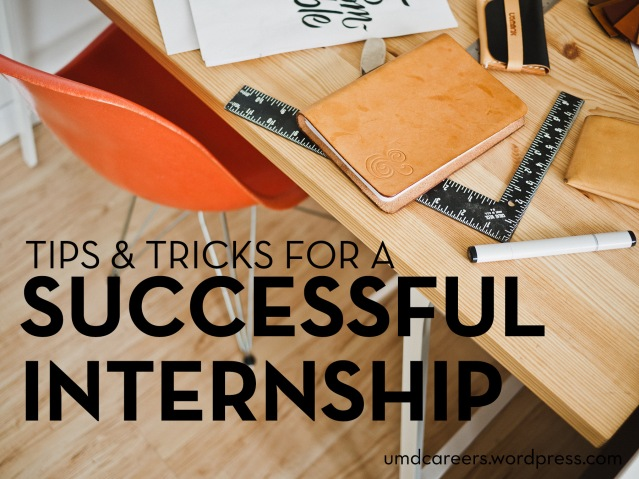Tips and tricks for a successful internship