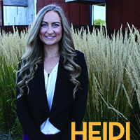 Head shot of Heidi