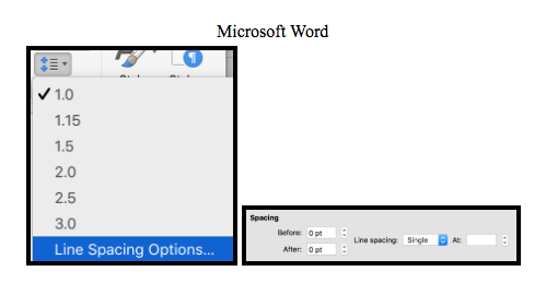 How to do custom line spacing in Microsoft Word